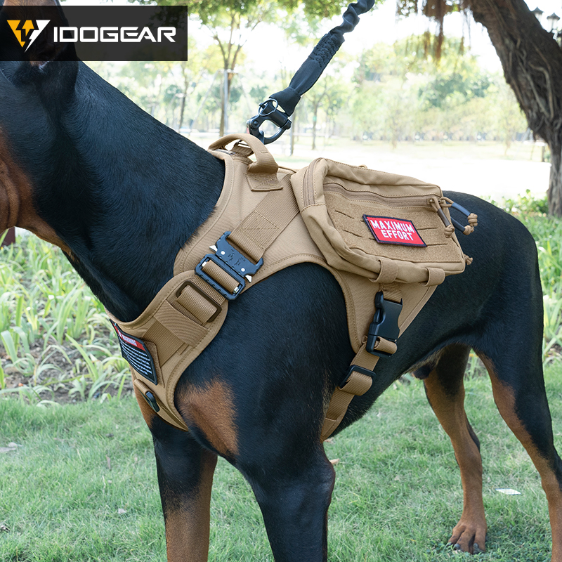 CZ22 Tactical Dog Harness Vest with Handle - Padded